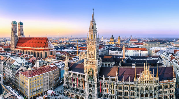 Ein Wochenende in München