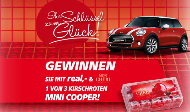 ferrero mini cooper gewinnspiel einen mini cooper. Black Bedroom Furniture Sets. Home Design Ideas