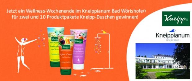 Kneipp Wellness-Gewinnspiel