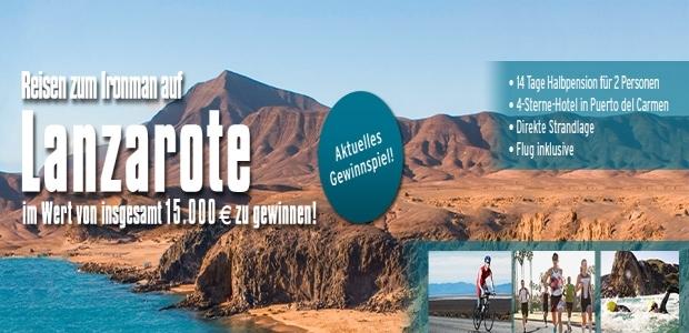 Reisen nach Lanzarote und erleben Sie dort den Ironman live!