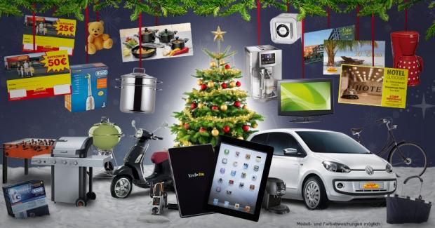 Weihnachtskalender Netto.Adventskalender Einen Einkaufsgutschein 50 Euro Gewinnen
