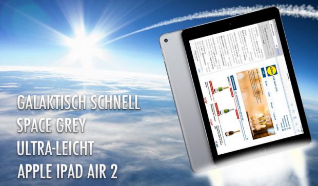 Apple iPad Air 2 Gewinnspiel