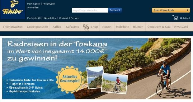 Toskana Radreise Gewinnspiel