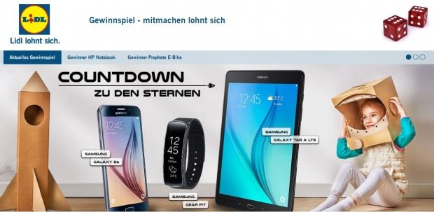 Samsung Trio Gewinnspiel