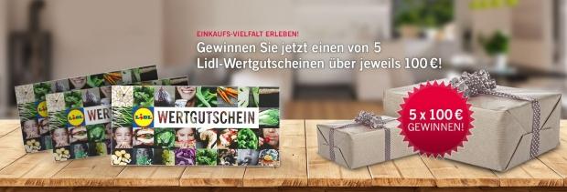 100 Euro Lidl-Gutscheine